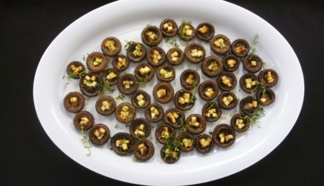 haloumi mushrooms catering company