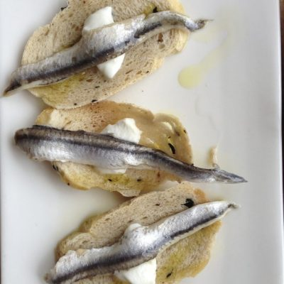 white-anchovie-feta-on-olive-crostini