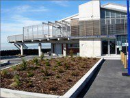 external photo of modern North New Brighton Community Centre exterior